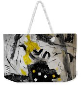 Moods Yellow Let It All Hang Out Weekender Tote Bag