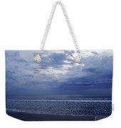 Moody Blue Beach Weekender Tote Bag