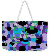 Moody Purple Weekender Tote Bag