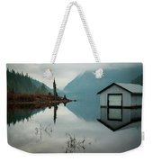 Moody Reflection Weekender Tote Bag