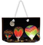 Moon And Balloons Weekender Tote Bag