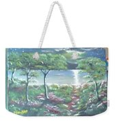 Moon And Forest Weekender Tote Bag