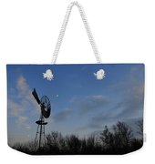 Moon And Windmill Weekender Tote Bag