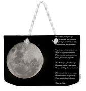 Moon Weekender Tote Bag