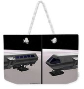 Moon Bus - Gently Cross Your Eyes And Focus On The Middle Image Weekender Tote Bag