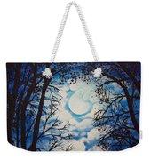 Moon Clouds Weekender Tote Bag