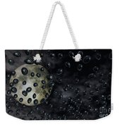 Moon Drops Weekender Tote Bag