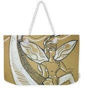 Moon Fairy Weekender Tote Bag