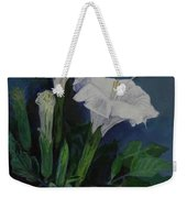 Moon Flower  Weekender Tote Bag
