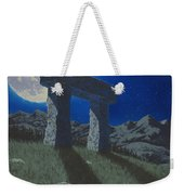 Moon Gate Weekender Tote Bag