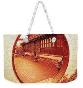 Moon Gate Weekender Tote Bag