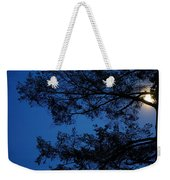 Moon Hiding In The Tree Weekender Tote Bag