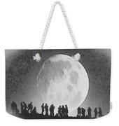 Moon - Id 16236-105000-9534 Weekender Tote Bag