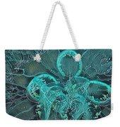 Moon Jellyfish Art Weekender Tote Bag