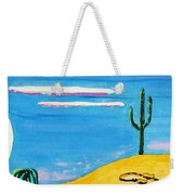 Moon Light Cactus R Weekender Tote Bag