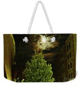 Moon On Fire Over Downtown Savannah Weekender Tote Bag