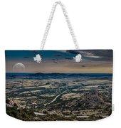 Moon On The Plains Weekender Tote Bag