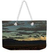 Moon Over Albuquerque Weekender Tote Bag