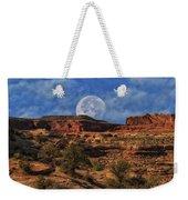 Moon Over Canyonlands Weekender Tote Bag