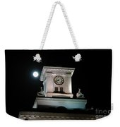 Moon Over City Hall Weekender Tote Bag