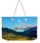 Moon Over Electric Mountain Weekender Tote Bag