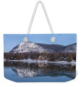 Moon Over Mont Saint Hilaire  Weekender Tote Bag