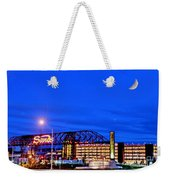 Moon Over Sands Weekender Tote Bag