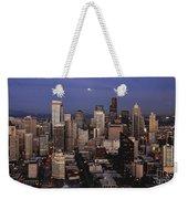 Moon Over Seattle Weekender Tote Bag