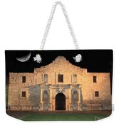 Moon Over The Alamo Weekender Tote Bag