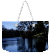 Moon Over The Charles Weekender Tote Bag