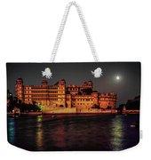 Moon Over Udaipur Weekender Tote Bag