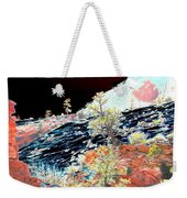 Moon Over Utah Weekender Tote Bag