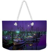 Moon Over Winchester Bay Weekender Tote Bag