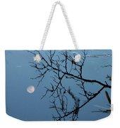 Moon Reflection Weekender Tote Bag
