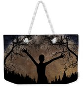 Moon Rising Weekender Tote Bag