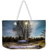 Moon Shadow Iroquois Point -1462 Weekender Tote Bag