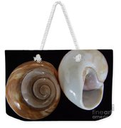 Moon Shells Weekender Tote Bag
