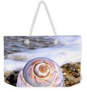 Moon Snail Weekender Tote Bag