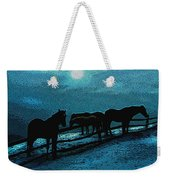 Moonbeam Weekender Tote Bag