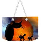 Mooncat's Catwalk Weekender Tote Bag by Issabild -