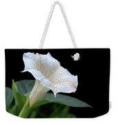 Moonflower - Rain Drops Weekender Tote Bag