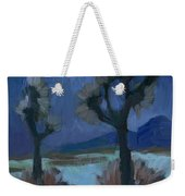 Moonlight And Joshua Tree Weekender Tote Bag
