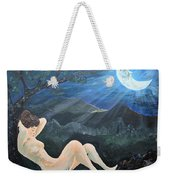 Moonlight And Sorrow Weekender Tote Bag