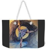Moonlight Ballerina Weekender Tote Bag