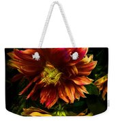 Moonlight Dahlia Weekender Tote Bag