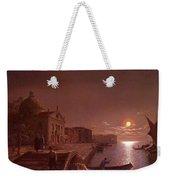 Moonlight In Venice Henry Pether Weekender Tote Bag