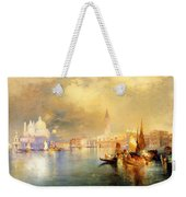 Moonlight In Venice Weekender Tote Bag