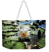 Moonlight Lily  Weekender Tote Bag