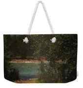 Moonlight Mile Weekender Tote Bag