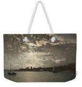 Moonlight Mood, The Stockholm Inlet  Weekender Tote Bag